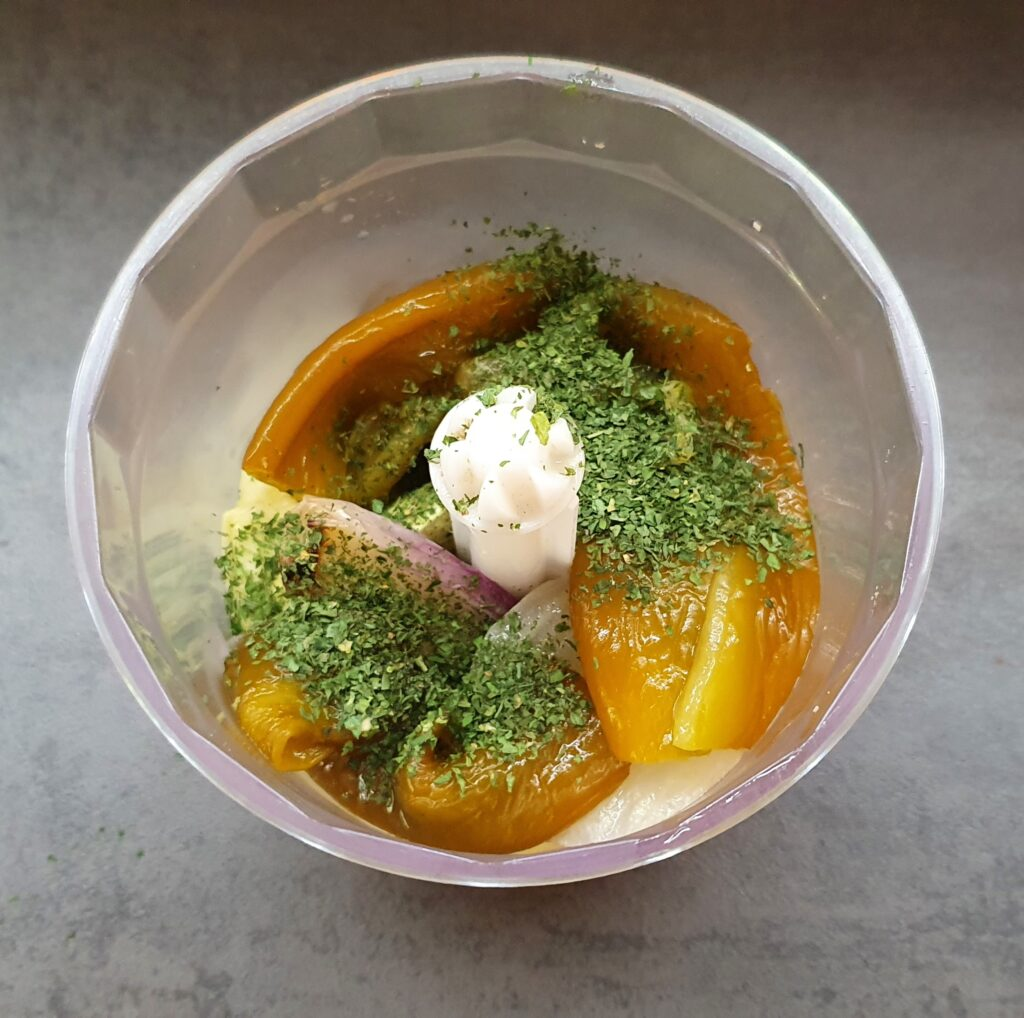 verdure da frullare per riempire le zucchine