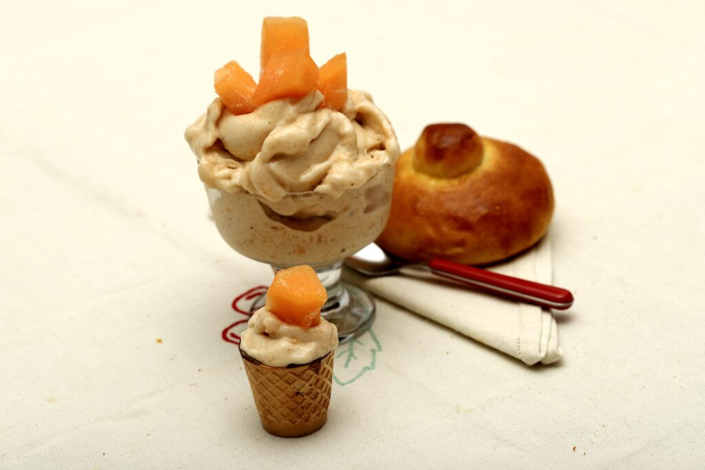Gelato al melone senza zucchero e senza gelatiera
