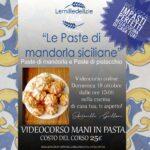Paste di mandorla siciliane: videocorso