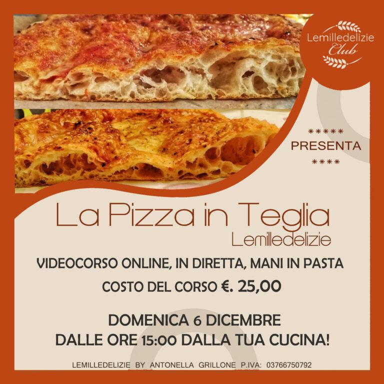 La Pizza in teglia: videocorso