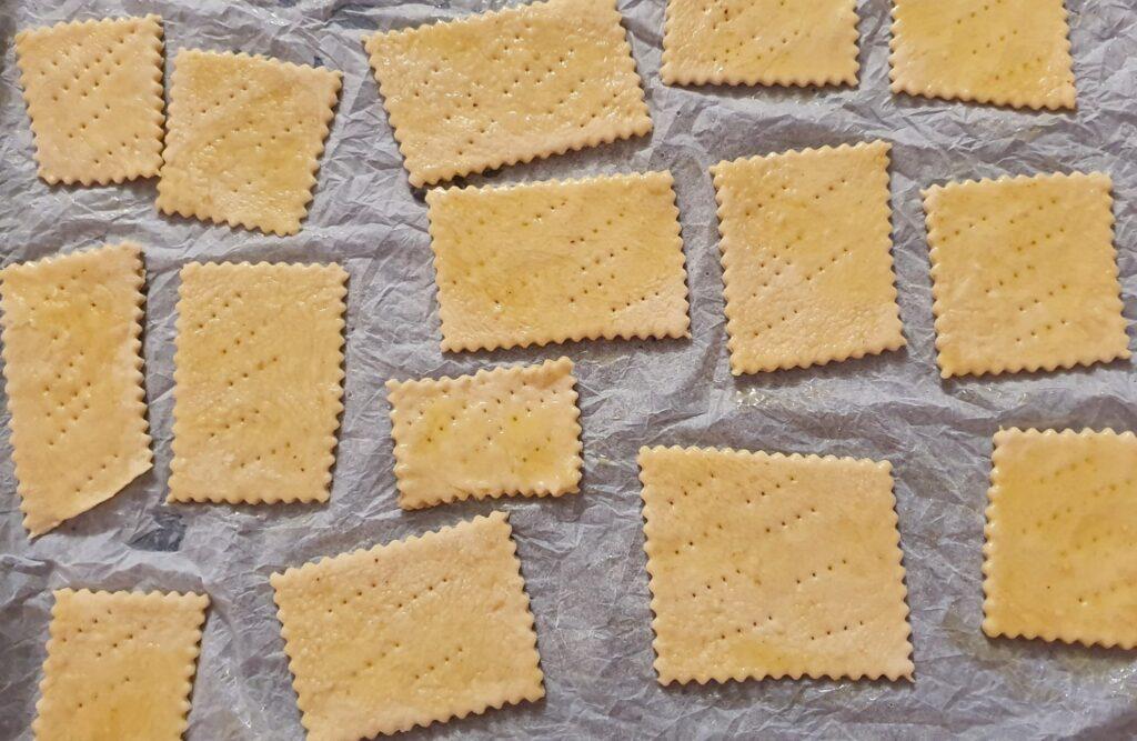 crackers da infornare