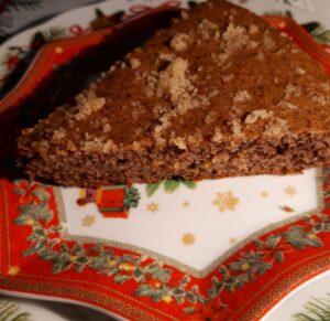 torta di grano saraceno con noci
