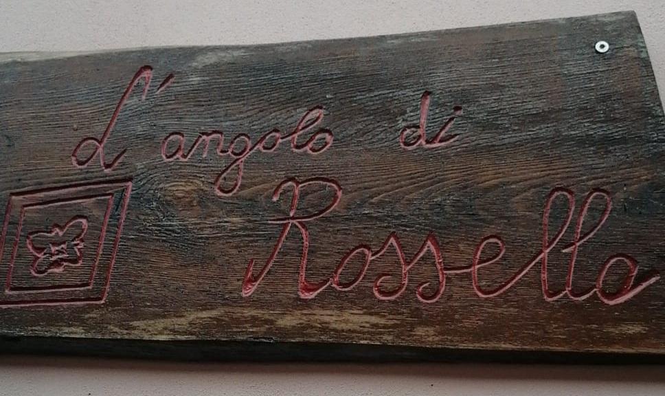 insegna del negozio l'angolo di Rossella in Avigliano - prodotti tipici