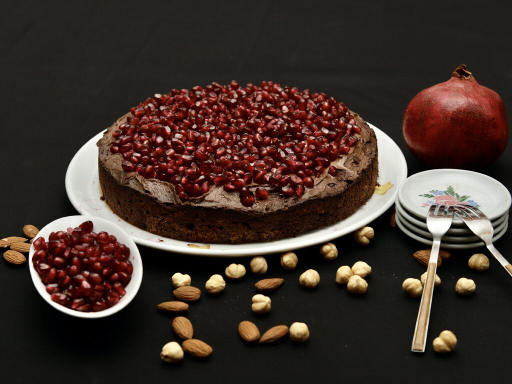 torta di nocciole e mandorle senza farina