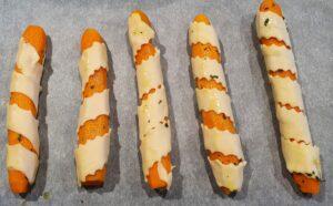 carote in pasta sfoglia