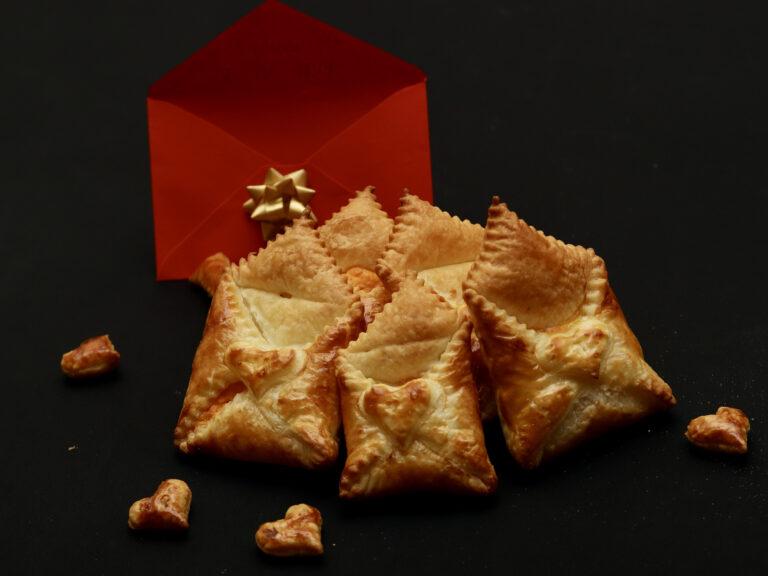 Pasta sfoglia ripiena per S.Valentino