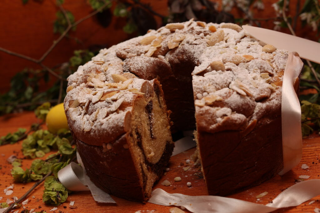 easter bread video corso on line