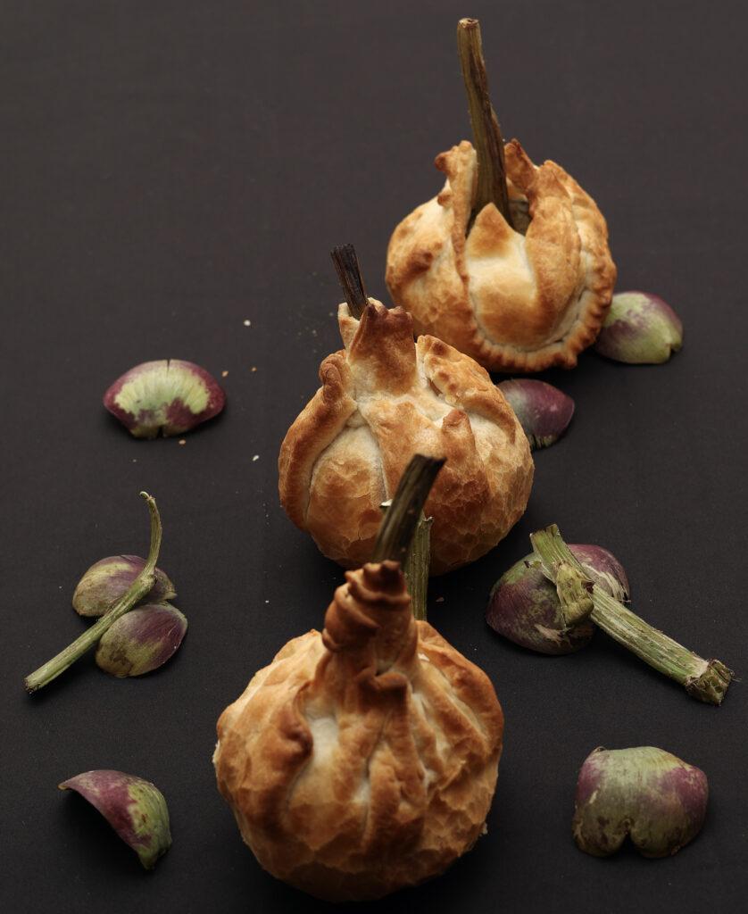 carciofi in pasta sfoglia