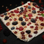 Barrette di yogurt e frutti di bosco