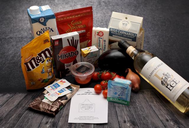 Ingredienti per realizzare le ricette dell'evento Mediolanum
