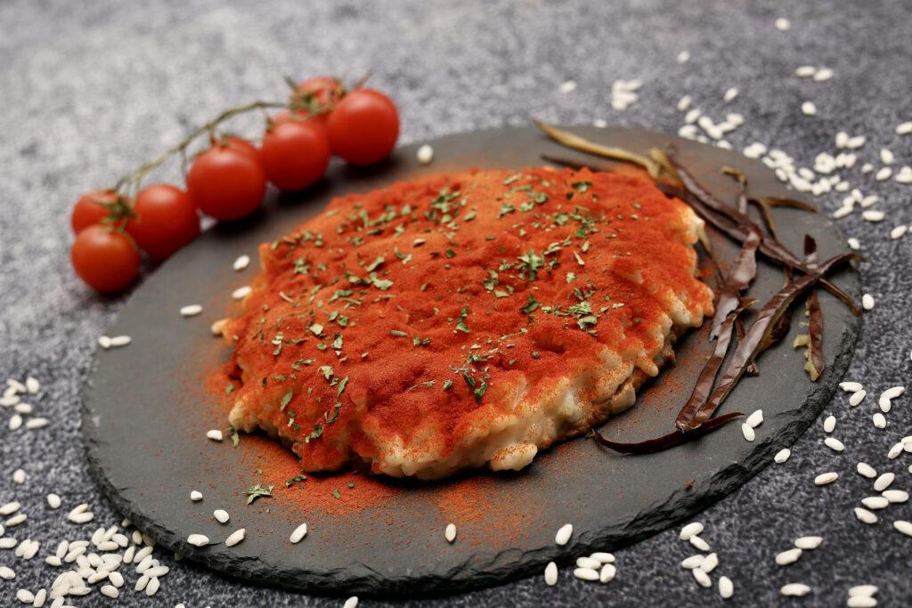 La parmigiana in un risotto ricetta di Felix Lo Basso