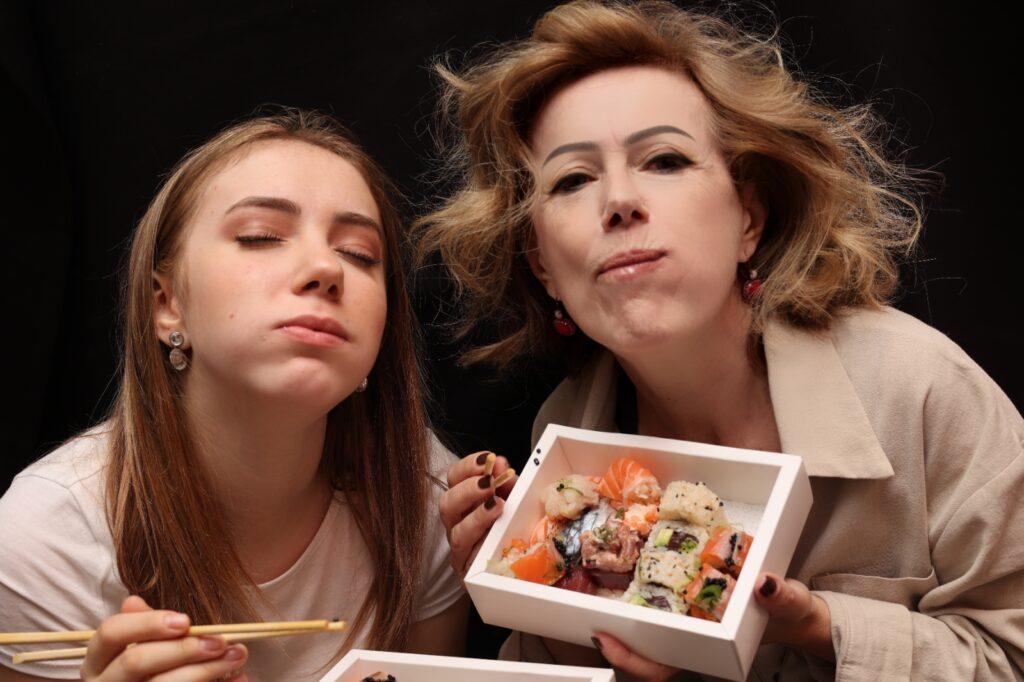 degustazione sushi delivery Armonico Milano