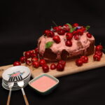 Plumcake con yogurt e ciliegie