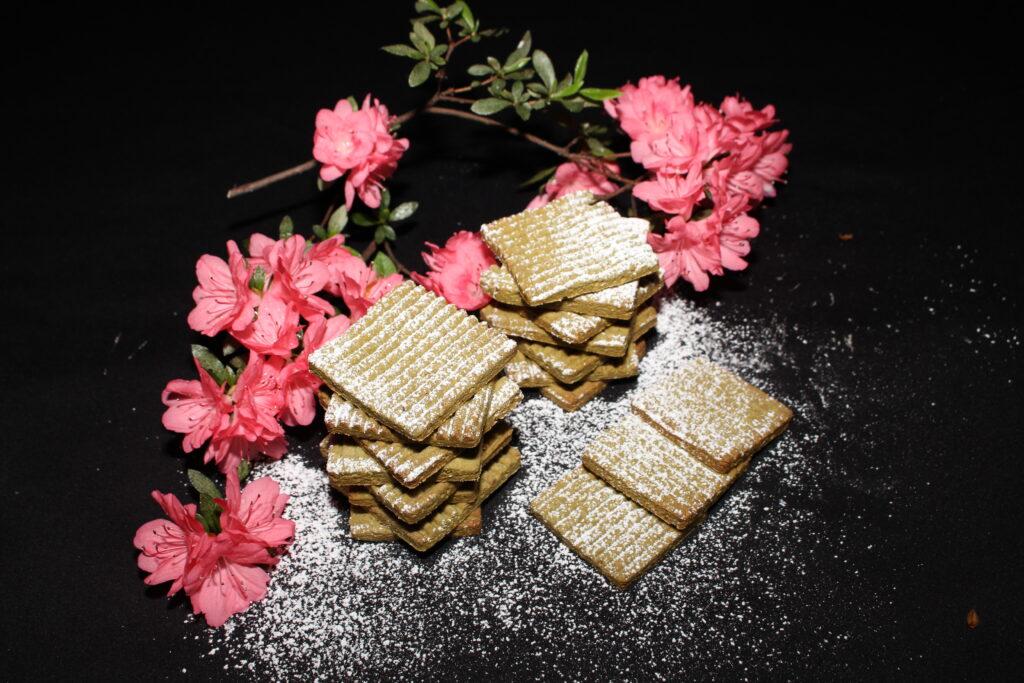 biscotti al tè maatcha