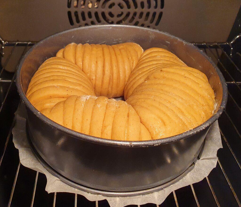 wool roll cake da cuocere