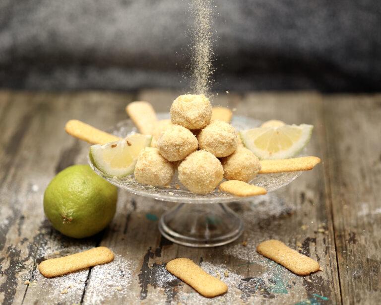 Dolcetti ricotta e limone senza cottura