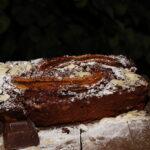 Plumcake cioccolato banane amaretti e mandorle