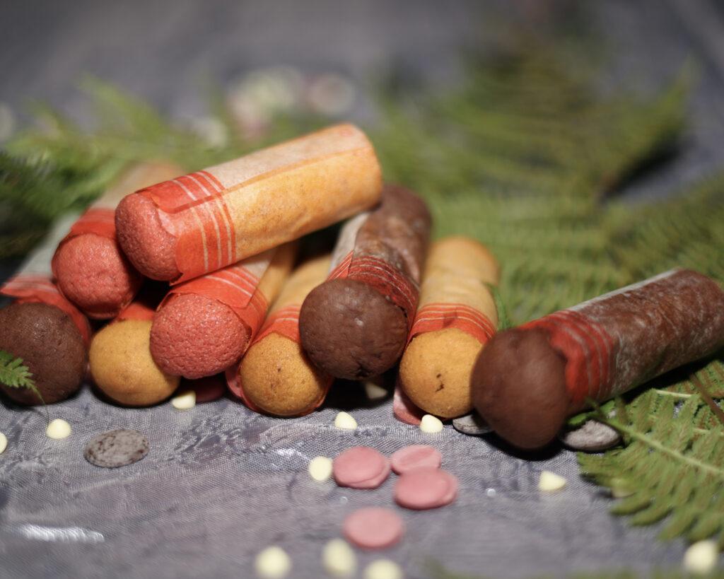 Cartucce calabresi colorate